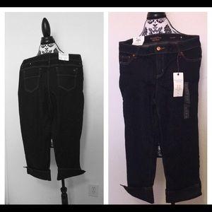 Simply Vera Wang Capris Jeans